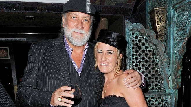 Mick Fleetwood with daughter Lucy in 2010