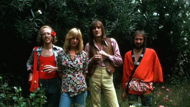 Fleetwood Mac (L-R: Bob Welch, Christine McVie, Mick Fleetwood and John McVie)