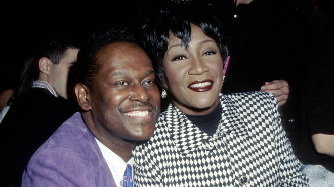 Luther Vandross and close friend Patti LaBelle