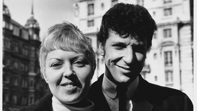 Linda and Tom Jones in the 1960s