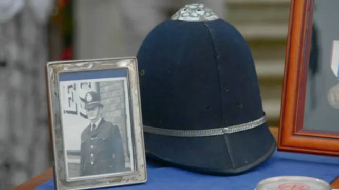 The owner of a policeman's helmet once worn by John Lennon was shocked by its value when it featured on the Antiques Roadshow (pictured).