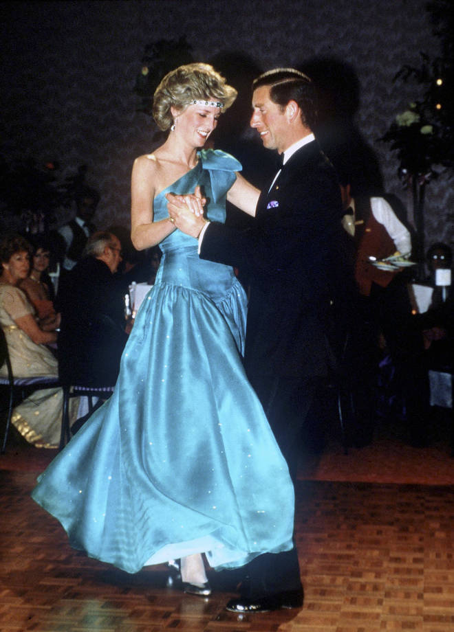 It has since been revealed that Diana loved music and it brought her great solace during her years as part of the royal family. Pictured, the pair dancing in Melbourne, 1983.