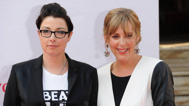 Mel and Sue in 2014