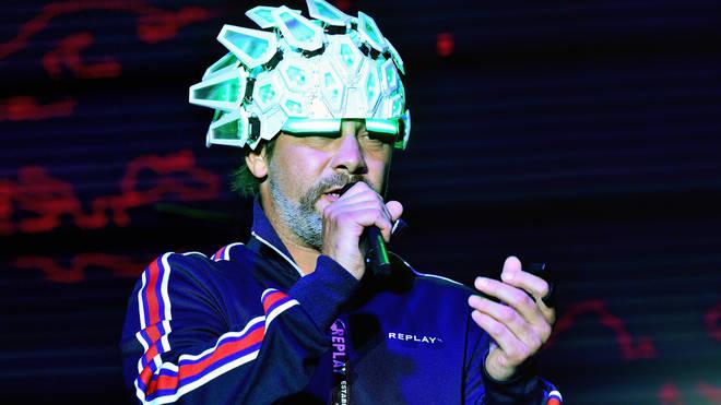 Jay Kay performing in 2019