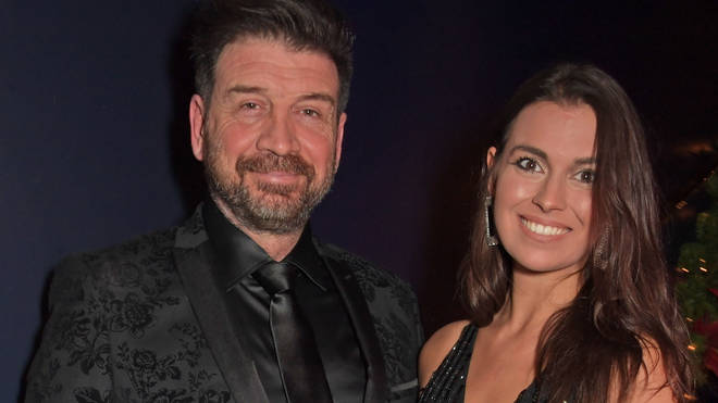 Nick Knowles and ex-girlfriend Emily Hallinan in 2019