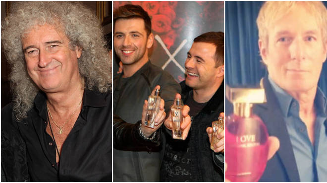Brian May joins Westlife and Michael Bolton in releasing a fragrance for women