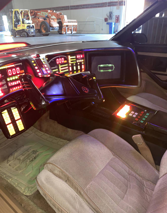 Memorabilia prices start at just $30 and go up to a whopping $450,000 for the star auction item: David Hasselhoff's actual K.I.T.T car from Knight Rider. (pictured)