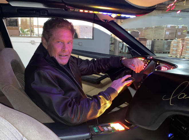 The car was originally estimated between $175,000 and $300,000, so with the current bid at $450,000 and two weeks left on the suction, it seem the lucky winner will have David Hasselhoff on their doorstep in the near future.