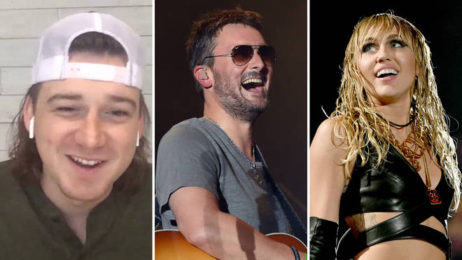 Morgan Wallen would love to duet with Eric Church and Miley Cyrus