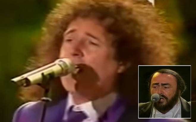 Freddie Mercury may have been the frontman of Queen, but it's Brian May's singing voice in a clip from 2003 that blows us away.