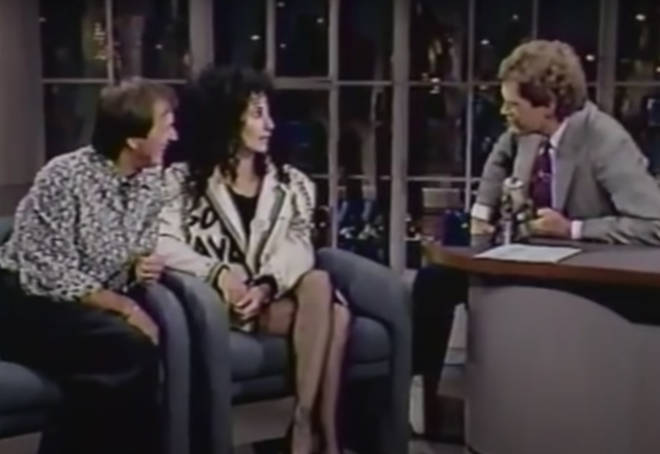 Sonny & Cher were guests on Late Night with David Letterman and after a short interview the pair agreed to sing 'I Got You Babe' for a delighted audience.