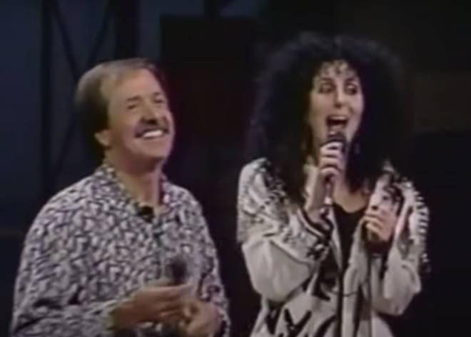 It was November 13, 1987 and the a television studio in California were about to be treated to a surprise performance they'd never forget (Pictured: Sonny & Cher singing 'I Got You Babe')