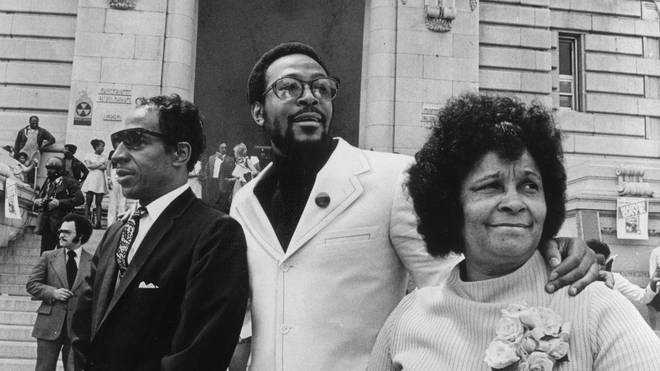 Marvin Gaye and parents