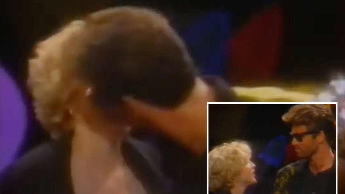 When George Michael kissed Madonna live on stage at the 1989 MTV Awards