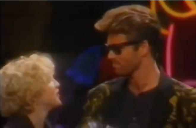 Madonna was presenting George Michael with the Video Vanguard Award at the 1989 MTV Video Awards