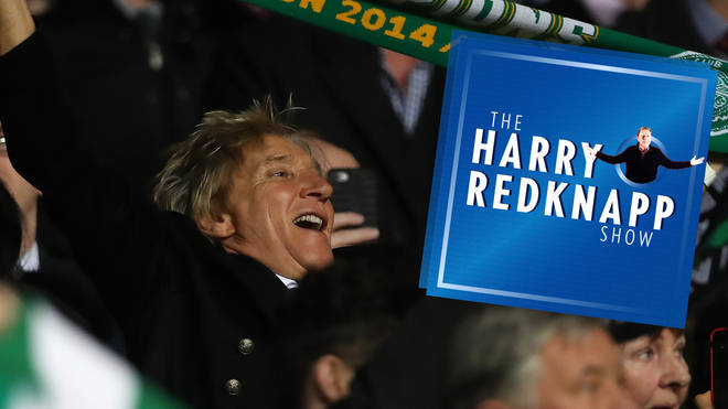 Rod Stewart appears on The Harry Redknapp Show podcast