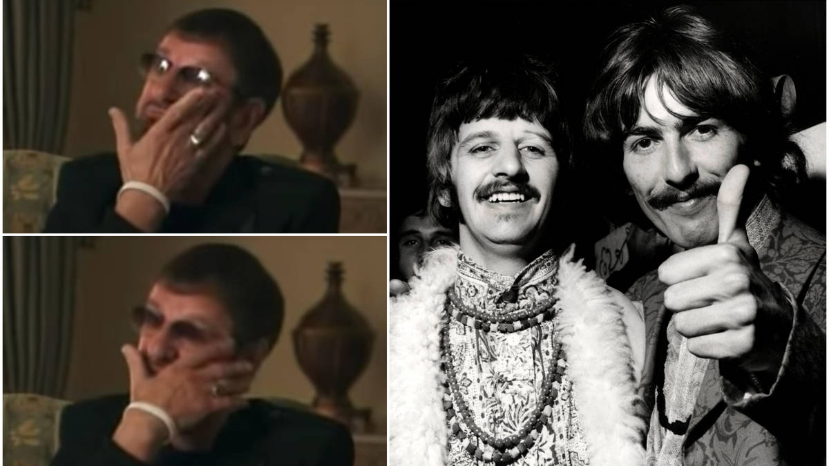 Ringo Starr reveals George Harrison's final words to him was a bittersweet joke on his deathbed - video