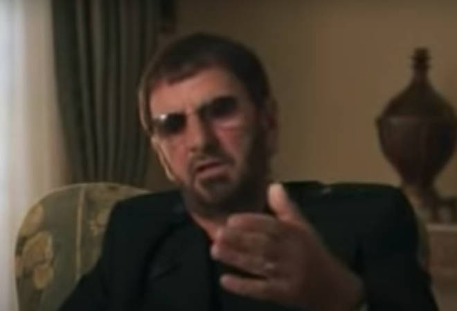 In footage taken from George Harrison's Martin Scorsese documentary: Living in the Material World, Ringo Starr reveals what was said on his last visit to the Beatle star's home in Switzerland.