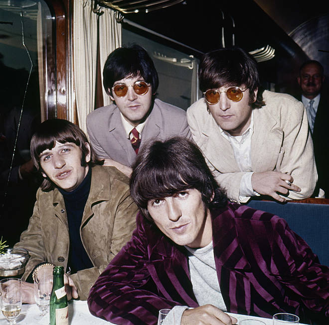 The Beatles photographed in 1966. (Left to Right) Ringo Starr, Paul McCartney, George Harrison and John Lennon.