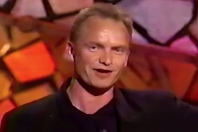 "Sting introduced Aretha Franklin on stage to sing instead of Pavarotti at ""literally, a moment's notice."""