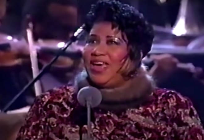The Queen of Soul gave her own take on the Italian classic