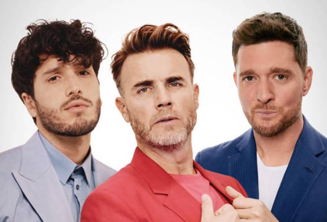 Gary Barlow, Michael Buble and Sebastian Yatra have collaborated on new song 'Elita'