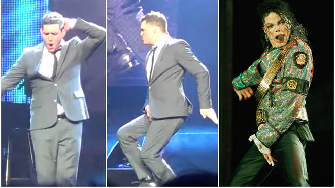 Michael Bublé may be famous for his feel good Christmas songs, but what many people don't know is that he does a mean impression of Michael Jackson. Pictured in Oslo in 2012.