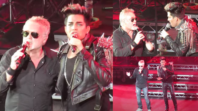 Taking to the stage on July 14 and in a nod of respect to the Queen drummer, Adam Lambert invited Roger Taylor to join him on stage for a special performance of 'Under Pressure'.