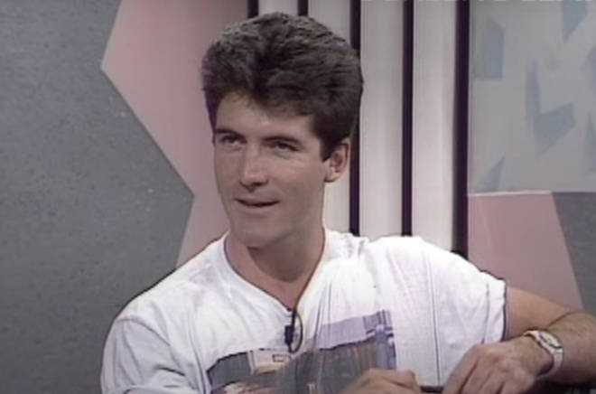 """In extraordinary footage from 1987, Simon Cowell and his flatmate appear on Right To Reply to criticise sex scenes on a TV show that they watched """"after a night out""""."""