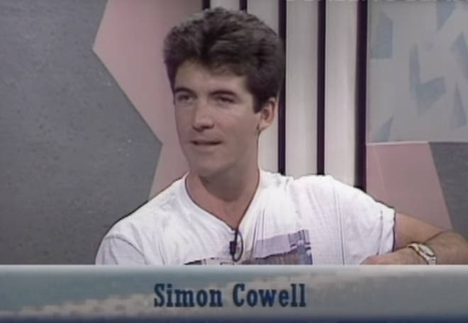 Viewers of the video couldn't believe their eyes and agreed the clip gave an insight into the beginnings of Simon Cowell's future public persona.