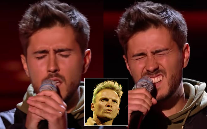 The songwriter from Hertfordshire, James Robb, gave a soulful rendition of the Sting song on The Voice this past weekend (January 23)