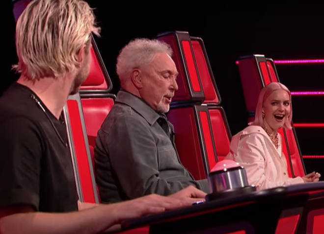 2021's series of The Voice has seen Tom Jones gave incredible performances from the comfort of his coaching chair (pictured).
