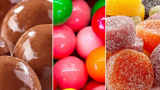 Can you name these sweets without the wrappers?