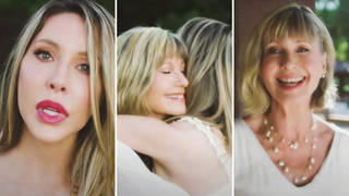 Olivia Newton-John and her daughter Chloe's new song