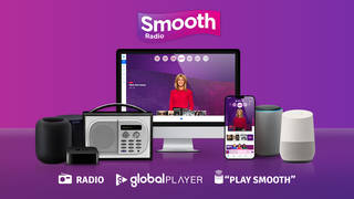 Listen to Smooth Radio across multiple platforms