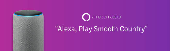 Listen to Smooth Country on smart speakers: Alexa
