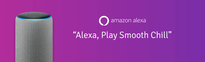 Listen to Smooth Chill on smart speakers: Alexa