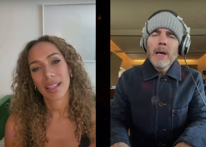Posting on his social media channels, Gary unveiled his fantastic live duet with Leona on Take That's classic hit 'Could It Be Magic'.