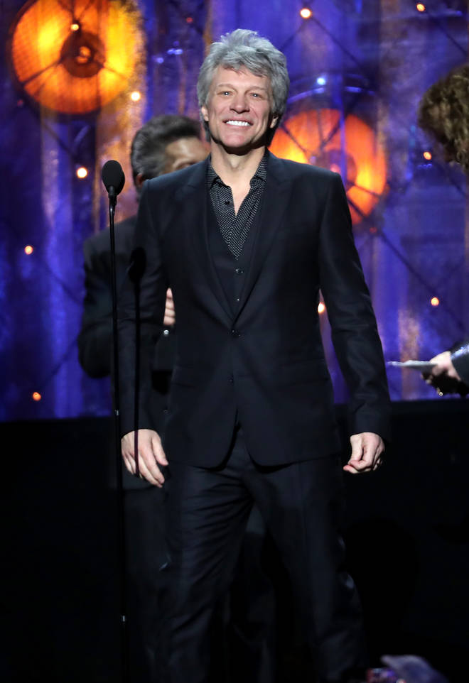 Jon Bon Jovi's greatest hits include karaoke classics 'I'll Be There For You', 'You Give Love A Bad Name', 'Livin' On A Prayer' and 'It's My Life' (pictured in 2018)