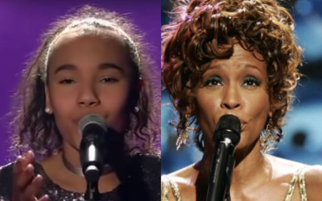 12-year-old Diana Donatella sang Whitney Houston's 'I Will Always Love You' on the German version of the hit TV show.