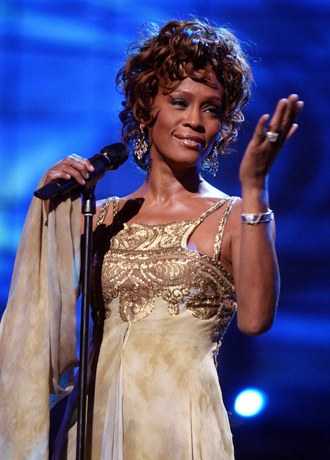 'I Will Always Love You' – a song originally released by Dolly Parton – is a favourite with contestants on The Voice. Pictured, Whitney Houston in 2004.