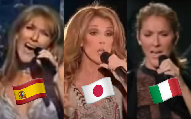 Celine Dion has sung in many languages including Japanese, Italian, German and even Latin in her 31-year career.