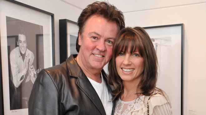 Paul Young and Stacey Smith in 2009