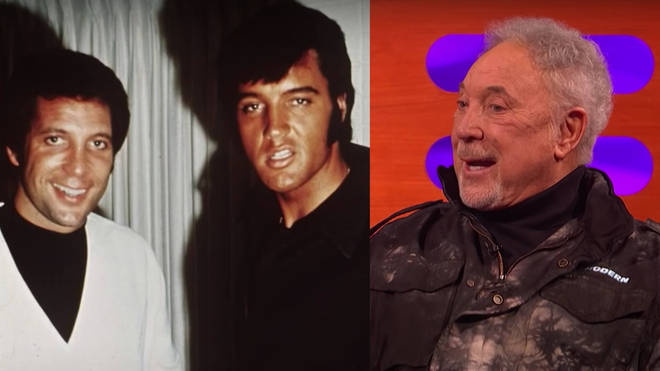Sir Tom Jones was appearing on The Graham Norton Show when he recalled the incredible moment he first met Elvis Presley