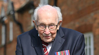 Captain Tom Moore has died at the age of 100