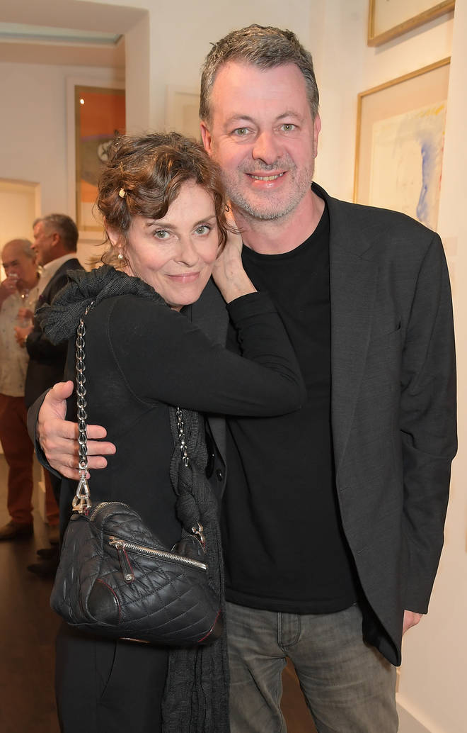 Lisa Stansfield and husband Ian Devaney in 2020