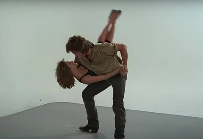 """His fearlessness with my fearfulness — like his lack of Jewishness and my super Jewishness — together was like a marriage where you have two opposites,"" Jennifer Grey said about Patrick Swayze."