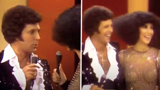 When Tom Jones and Cher brazenly flirted on stage, before performing a lively duet in 1976