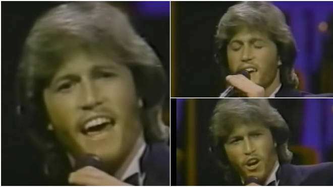 Andy Gibb gave a sensational performance of the Bee Gees' hit song 'Words' when he was just 23-years-old.