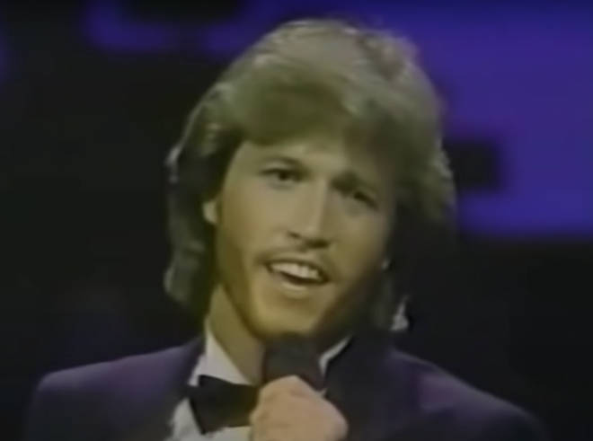 The youngest Gibb is the spitting image of older brother Barry in the video and even replicates the Bee Gees star's impressive vibrato and falsetto range, while giving the song a twist all of his own.